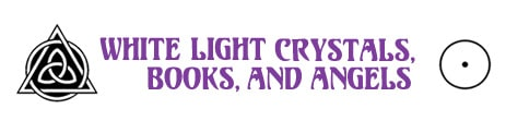 White Light Crystals, Oden Reiki Healing, Channeling, Psychic Readings, Crystals, Jewelry Logo